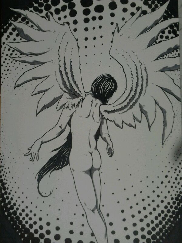 angel, tinta-rotulador