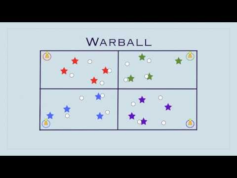 Gym Games - Warball - YouTube: I like all out victory - play til one team still standing