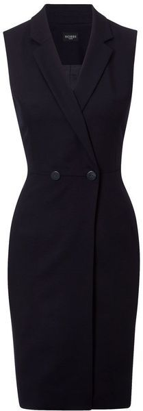 Hobbs Blue Roxanne Dress