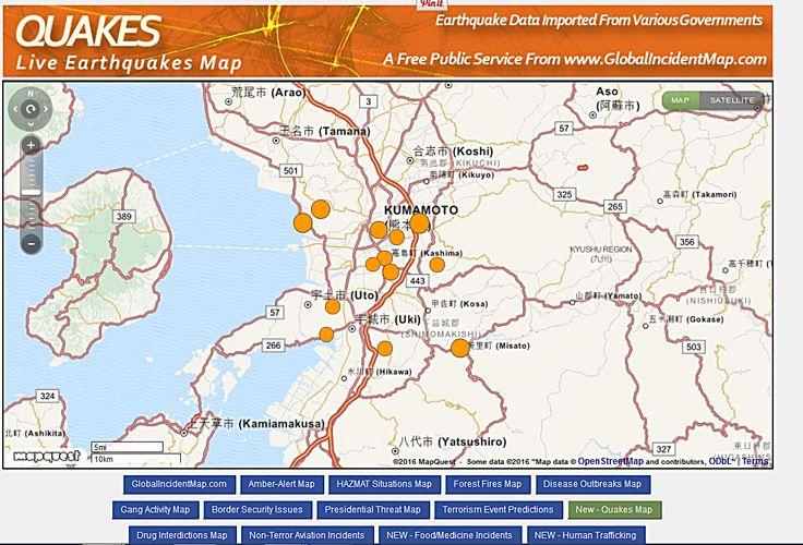 Strong Earthquake Off the coast of South America, Ecuador M60 - best of world map japan ecuador