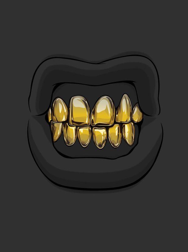 Ilustração Dente de Ouro / Autor: desconhecido