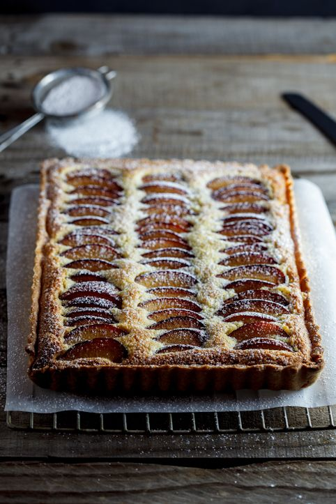 Plum Frangipane Tart | Private Party Caterers | Delicious Food http://www.partyingredients.co.uk/food-and-drink