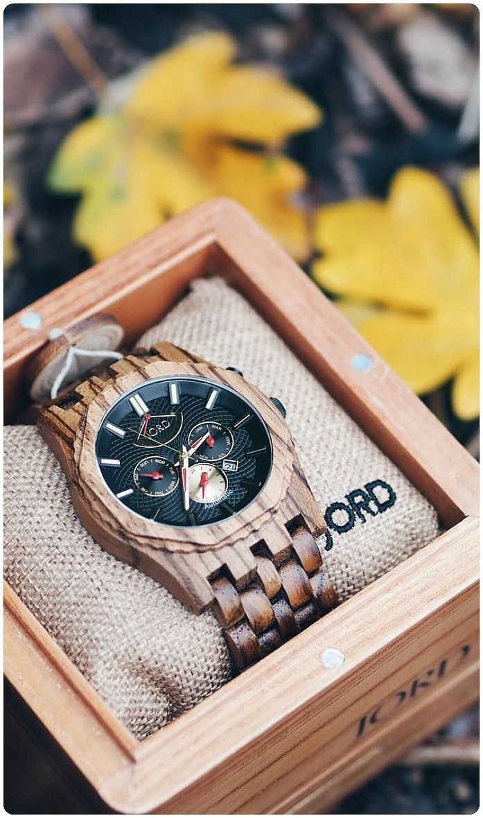 products treehut wooden true all tree theo stainless hut silver wood watches steel watch ebony