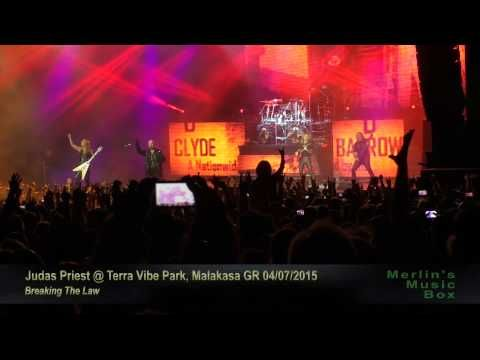 Judas Priest - Breaking The Law @Terra Vibe Park, Malakasa 04/07/2015 - YouTube