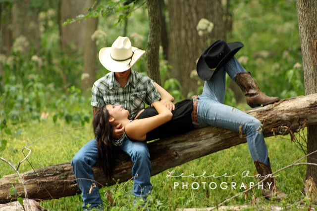 country couple poses ... I think him at the top tho would be better