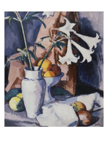 Madonna Lilies, Samuel John Peploe