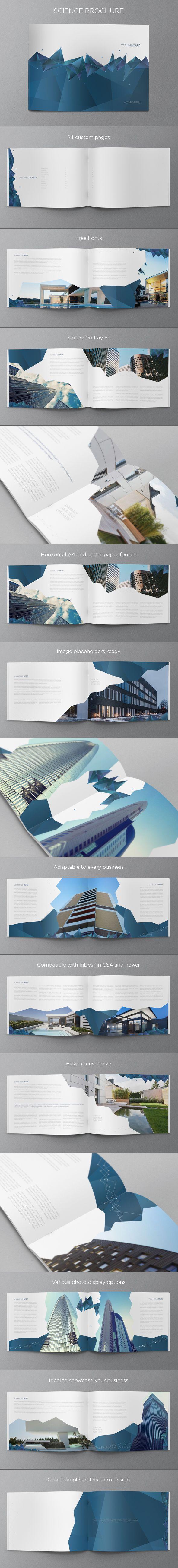 Science Brochure. Download here: http://graphicriver.net/item/science-brochure/5680739?ref=abradesign #design #brochure