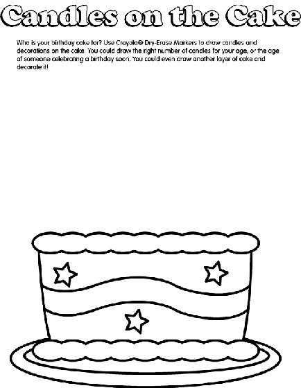 84 best images about cake coloring pages on pinterest birthday