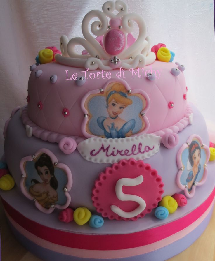 Princess Cake Design : Disney Princesses Cake Le Torte di Michy