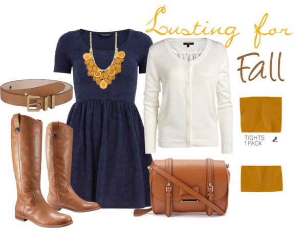 """""""Lusting for Fall"""" that necklace! : Outfits Inspiration, The Dress, Polyvore Outfits"""