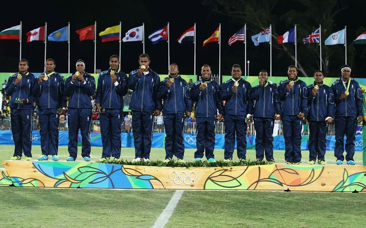 Rugby 7s - Men - Fiji - Rio Olympics 2016