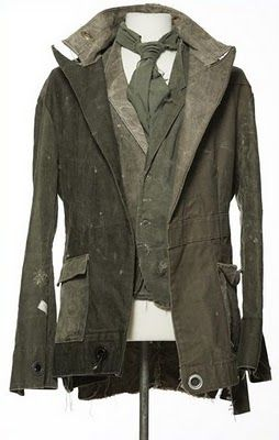 Fashion Link: Greg Lauren ( I met Greg at his show in Beverly Hills) Love his recycled fashion.