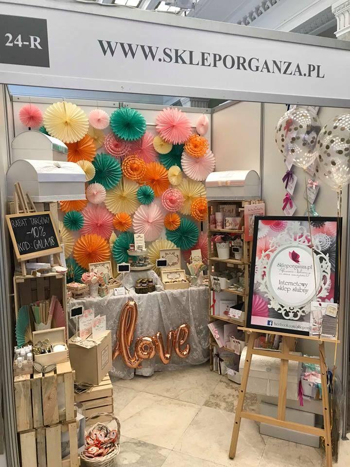 Targi ślubne - Polska Gala Ślubna. Inspiracje: dekoracja sali, upominki dla gości, podziękowania dla rodziców, zaproszenia, dodatki weselne, dodatki na wieczór panieński