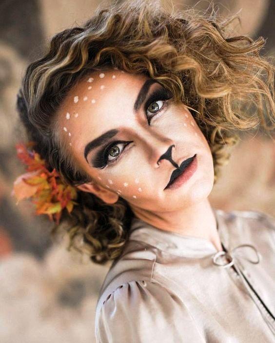 deer halloween makeup - photo #7