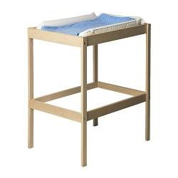 IKEA - SNIGLAR, Changing table, , Comfortable height for changing the baby.Practical storage space within close reach. You can always keep a hand on your baby.