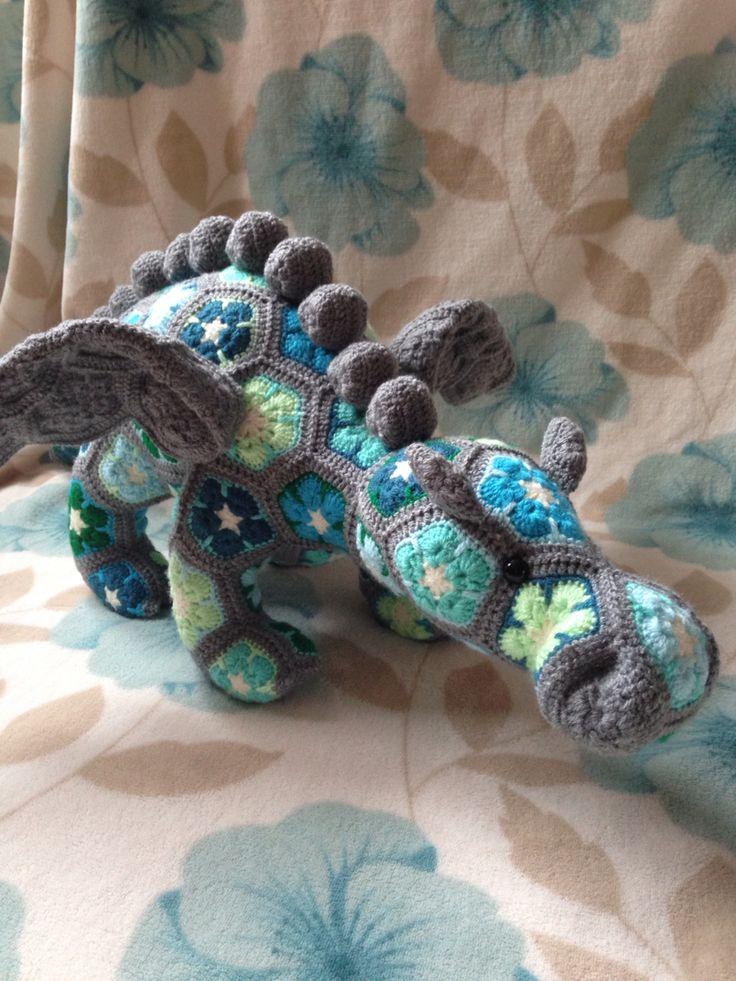 crochet dragon. pattern from heidi bears | käsityö, lelut