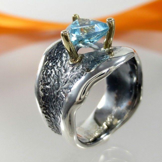 44 besten Designer Unikat Ringe Handmade Gold Silber Bilder auf
