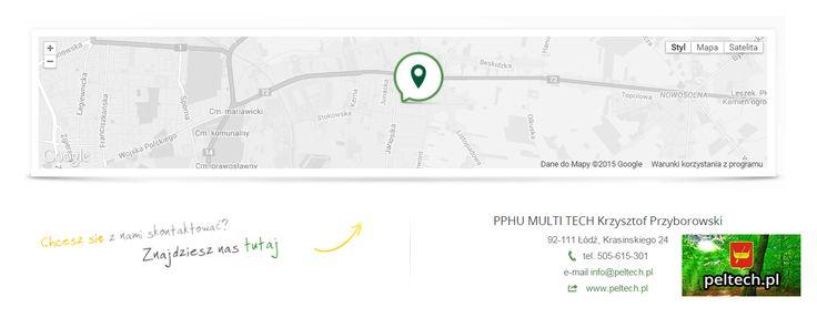 PPHU MULTI TECH Krzysztof Przyborowski 92-111 Łódź, Krasinskiego 24 tel. 505-615-301 e-mail info@peltech.pl web www.peltech.pl
