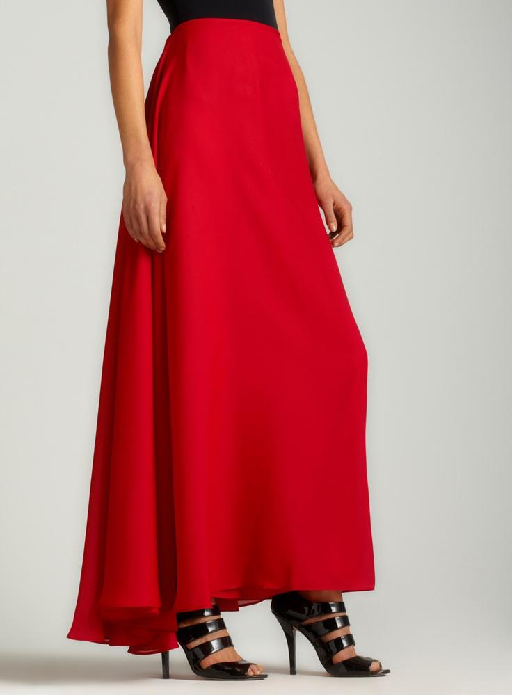 Long Georgette Skirt 16