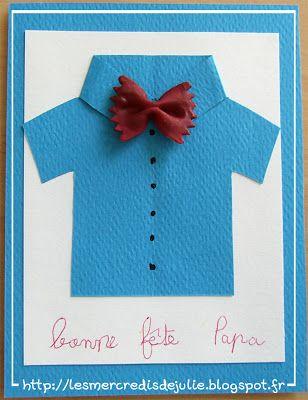 Les Mercredis de Julie : Carte pour la fête des Papas http://lesmercredisdejulie.blogspot.fr/2013/06/carte-pour-la-fete-des-papas.html