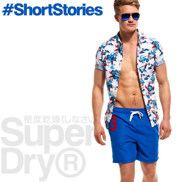 Get beach ready this summer with our diverse Boardshort range >> http://www.sdry.co/1KsVhws