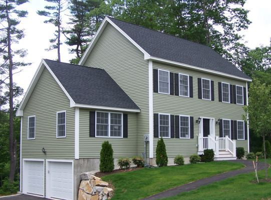 Cypress Color Siding House Exterior Ideas Pinterest