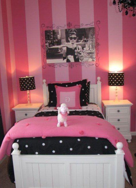 Pink and black bedroom ideas - https://bedroom-design-2017.info/style/pink-and-black-bedroom-ideas.html. #bedroomdesign2017 #bedroom