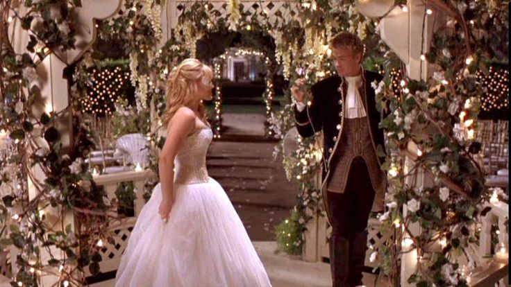 One of the most romantic moments in teen chick flick history! Soooo pretty and cheesey!