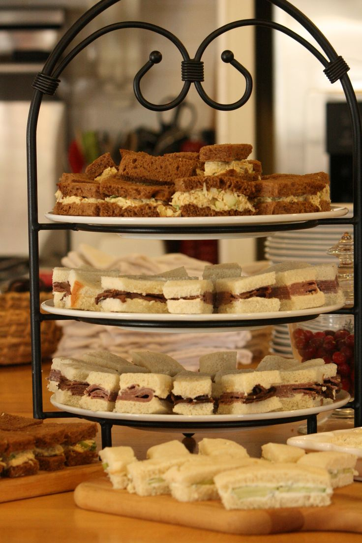 baby shower tea sandwiches my food creations pinterest the o