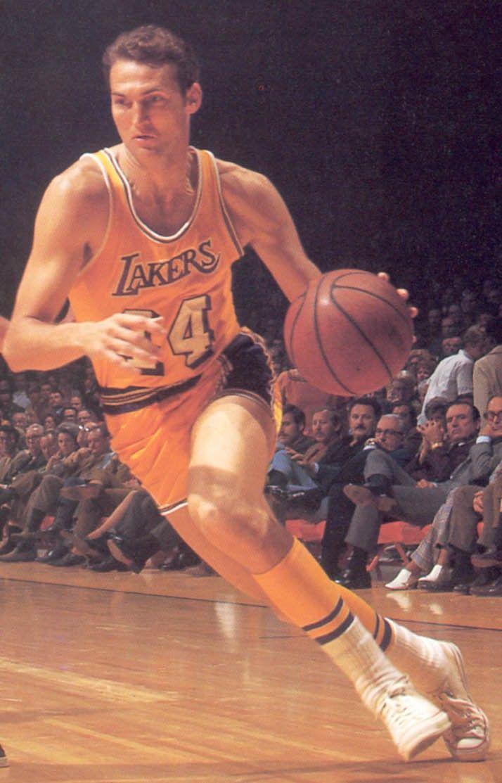 Jerry West LA Lakers - the NBA Logo model