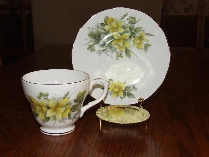 40 Best Images About Daffodil Tea Cups On Pinterest