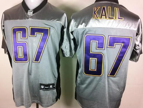 minnesota vikings 67 matt kalil grey shadow nfl jerseys
