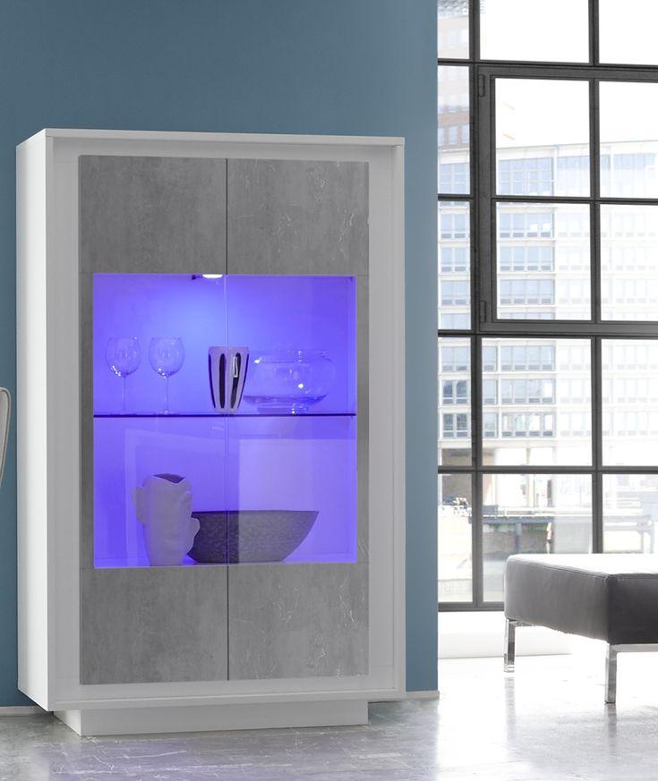 38 best mobili soggiorno images on pinterest | modern sideboard ... - Vetrina Soggiorno Bianca 2