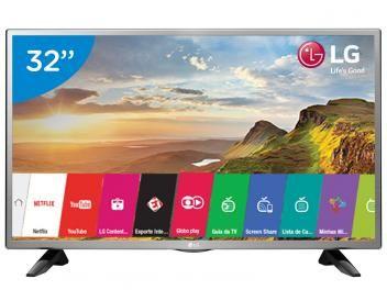 """Smart TV LED 32"""" LG 32LH570B Conversor Digital - Wi-Fi 2 HDMI 1 USB"""