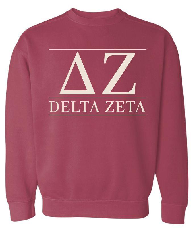 Delta Zeta Sweatshirt                                                                                                                                                                                 More