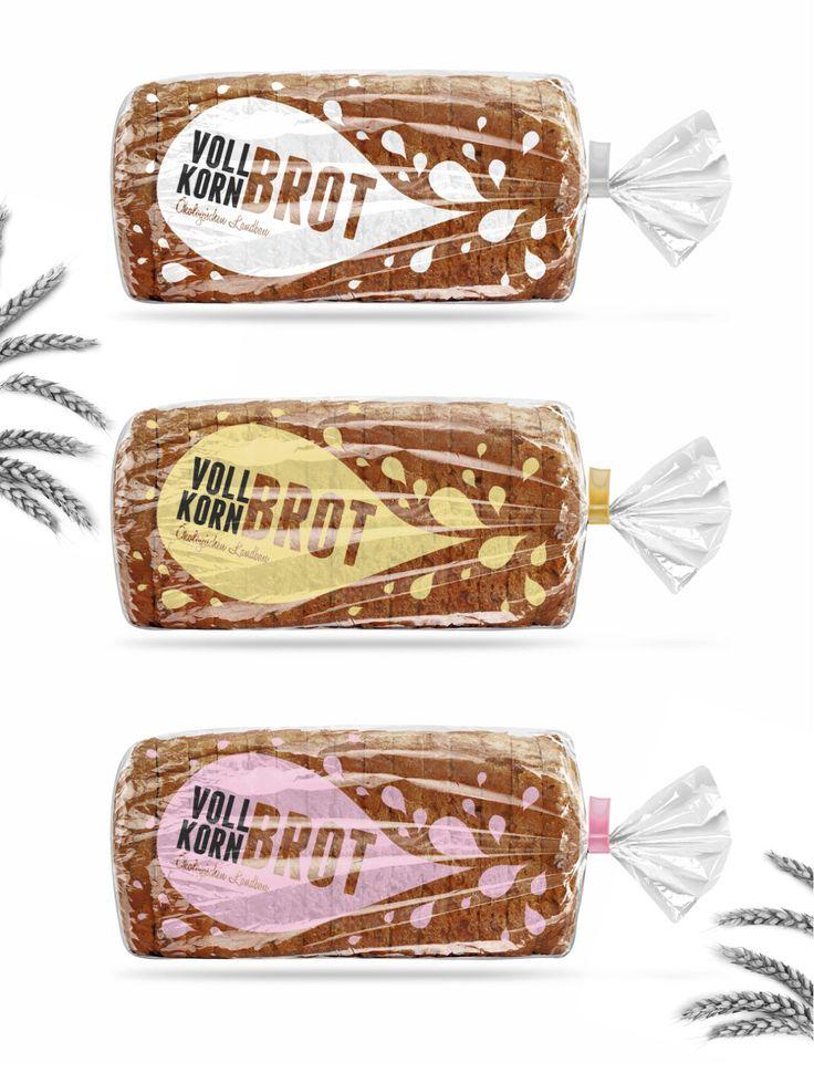 Volkornbrot Complete Branding and Packaging Design