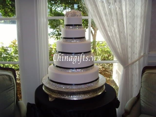 how to make a bling wedding cake stand details about 1 yard 1 2 3 4 5 6 rows rhinestone ribbon 15792