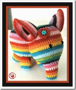 Olifant, uitleg patroon in het Nederlands! @ Karen en Loes: misschien een olifantje maken????