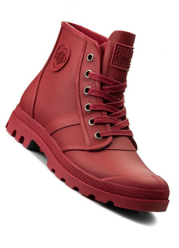 hot sale online 11a7d e8c41 PALLADIUM sneakers PAMPA HI RAIN RIO RED JV
