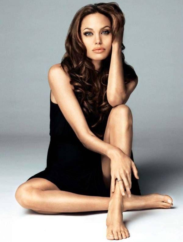 "Annie Leibovitz. Striking one she did of Angelina. """