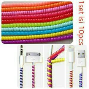 Jual Pelindung Kabel / Cabel Protector USB Spiral - Adhicadaz | Tokopedia