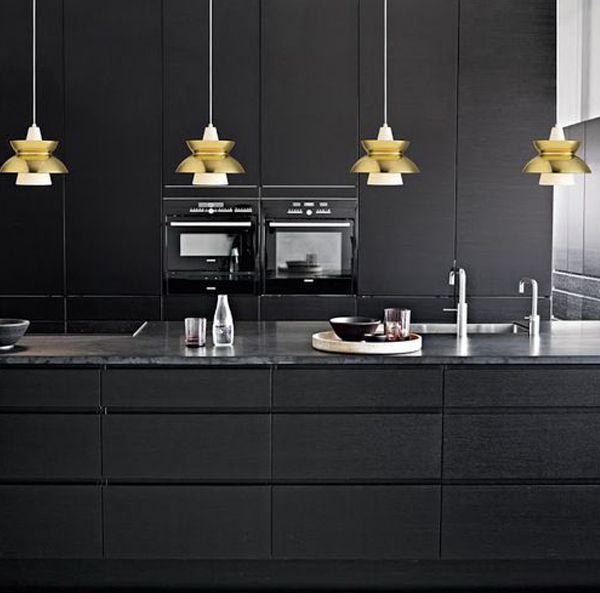 ChicDecó: Cocinas doradas a todo glamourGolden kitchen glam