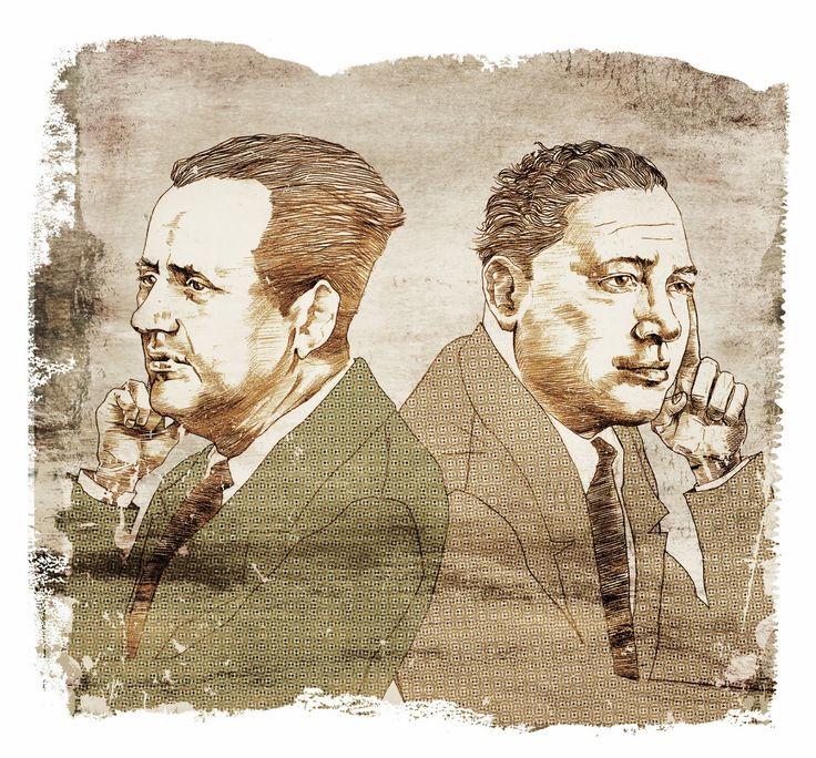 LOS CENTENARIOS SECRETOS DE NICOMEDES GUZMÁN Y TEÓFILO CID | Victor-Abarca-Ilustraciones