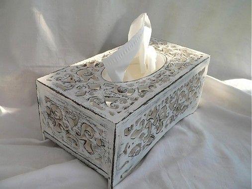 elizabetha / Elegantná krabička na papierové vreckovky
