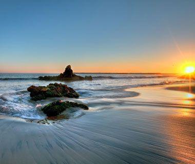 Sunset over Newport Beach, CA