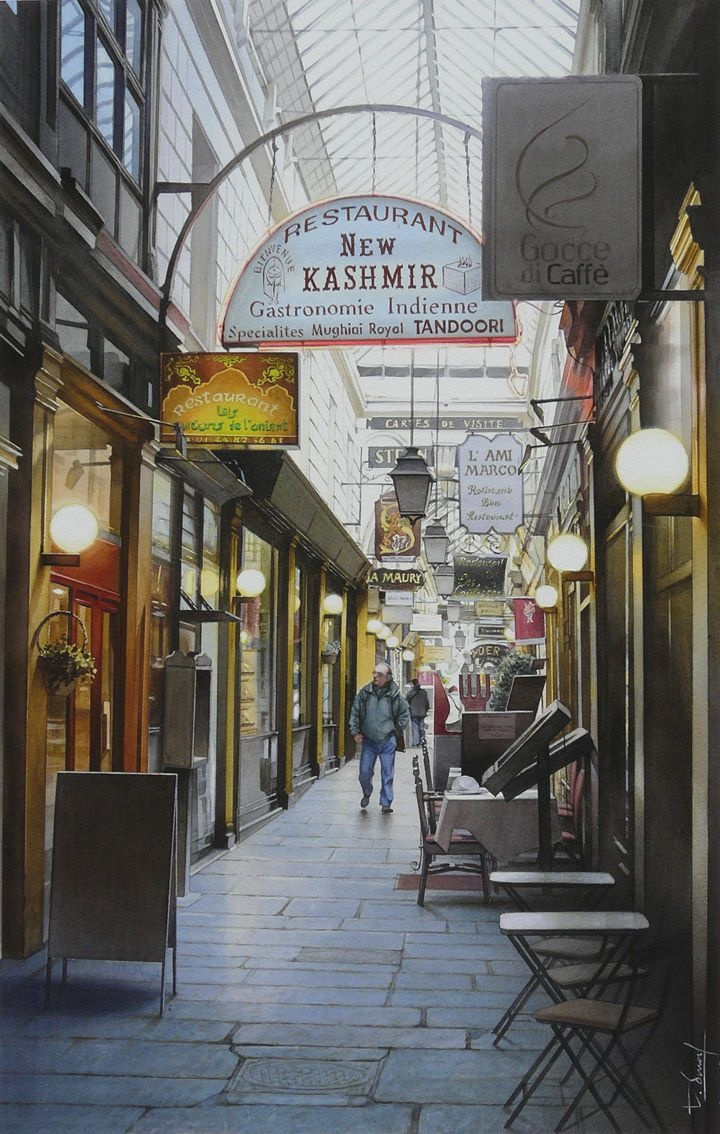 53 best Thierry Duval images on Pinterest   Watercolors, Watercolour ...