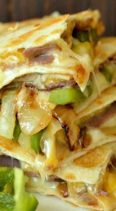 Philly Cheese Steak Quesadilla
