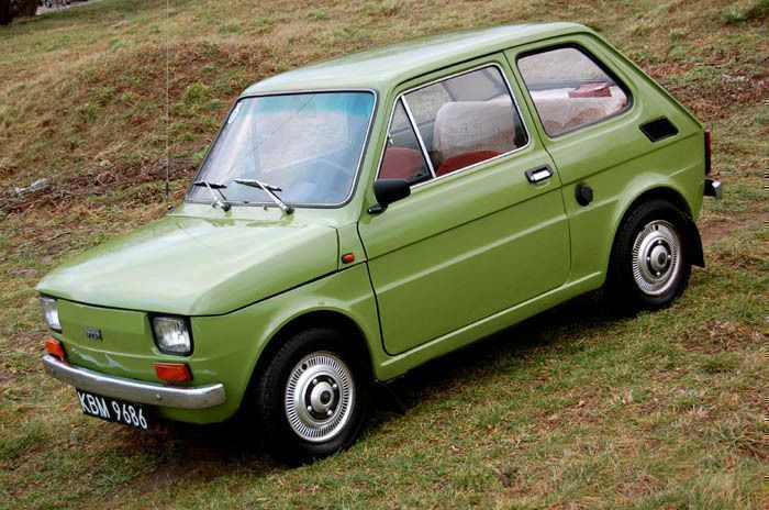 111 best images about fiat 126p on pinterest fiat abarth fiat cars and yachts. Black Bedroom Furniture Sets. Home Design Ideas