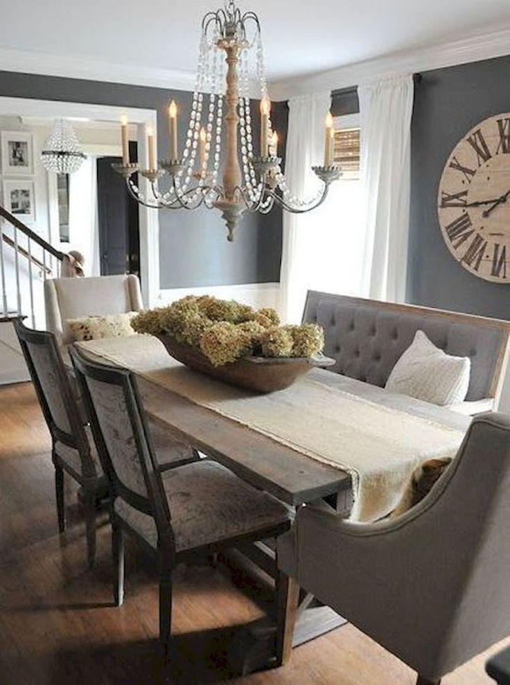 16 Amazing Modern Farmhouse Dining Room Decor Ideas