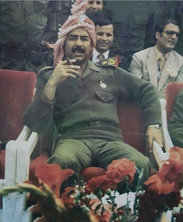 A younger Saddam Hussein